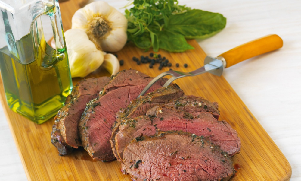 Leg of Lamb is a beautiful dish to serve when entertaining friends and family. American lamb is tender and sweet. In this recipe, it's grilled and brushed with a delightful blend of oregano, garlic and pepper.