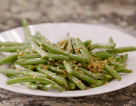 Caribbean Garlic Green Beans