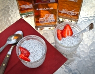 Chia Pudding with Barrel-Aged Maple Syrup