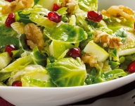 Harvest Brussels Sprouts Salad
