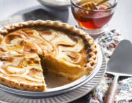Honey Cream Pumpkin Pie