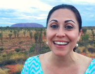 The Healthy Voyager Visits Uluru, Australia