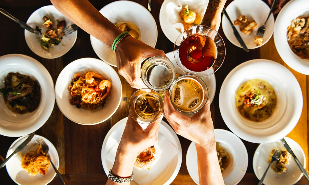 Some guests don't realize that giving the first toast as a guest is a big taboo. The host—the curator of the evening—deserves to make the initial toast. If you're itching to make a big announcement or show your appreciation to the hardworking host, ask them privately when they will be making their toast so you know when your turn is coming.