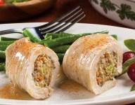 Turkey 'n' Stuffing Rollups