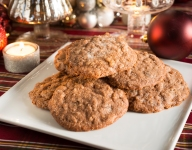 The 13 Days of Christmas Cookies: #1 Cocoa-Crunch Cookies