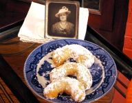 The 13 Days of Christmas Cookies: #12 Great-Grandma Rose Schade's Pecan Crescent Cookies