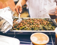 Braised Collard Greens with Tongue of Fire Beans
