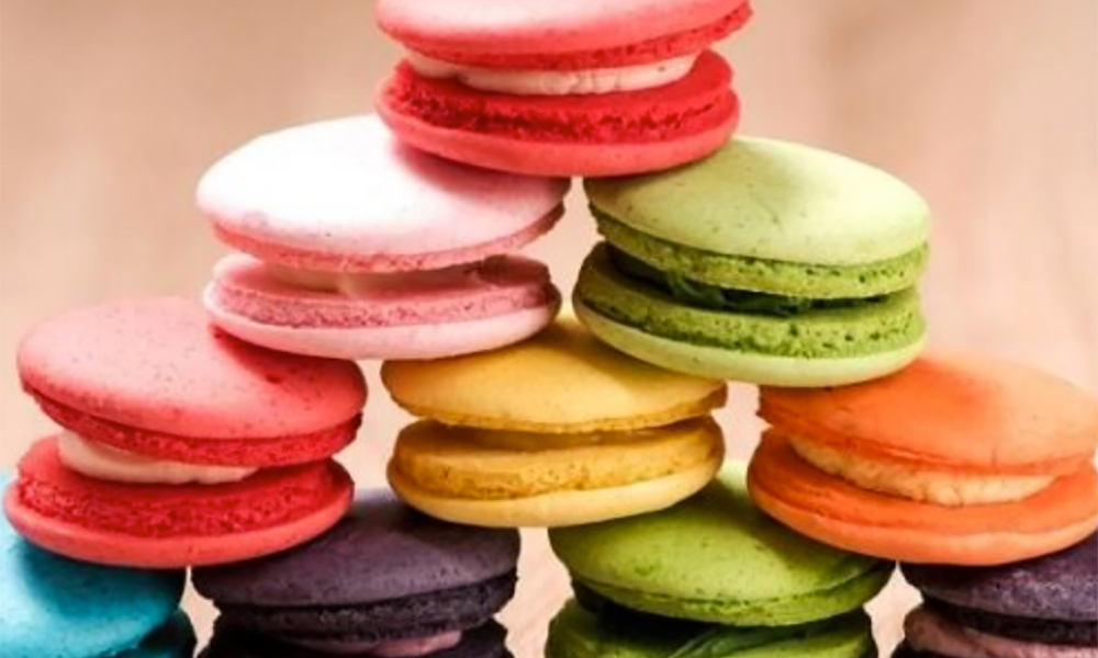 Macarons make beautiful gifts, with the colors and flavors easy to change to suit the recipient. These Blackberry Macarons not only taste divine, but look stunning, too.