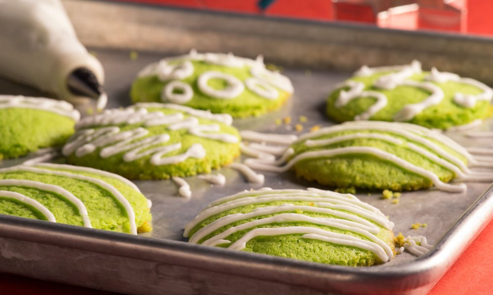 These Coconut Pandan Cookies are Southeast-Asian inspired and represent but one example of the growing Accessible Ethnic Trend in The Food Channel's 2019 Top Food Trends report.