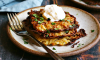 These delicious Potato, Onion and Cauliflower Latkes, or potato pancakes, are perfect for Hanukkah or anytime you're looking for a delicious potato side dish.