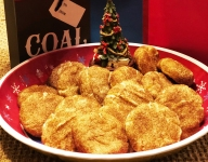 The 13 Days of Christmas Cookies: #11 Aunt Clara's Snicker Doodle Cookies