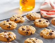 Bee Nutty Choco-Chip Cookies