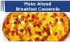 We know breakfast is probably the most important meal of the day. Ask any school teacher if a child that's hungry does well learning math or history. The same holds true for adults. Luckily, Dinner Reinvented's Roni Proter comes to the rescue with her Make Ahead Breakfast Casserole.