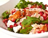 Grilled Chicken & Pomegranate Salad