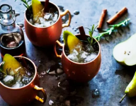 Pear Moscow Mules