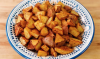 These Decadent Garlic Home Fries will go faster than you can snap a football. The recipe is another in ourseries from extravaGONZO, that feature the company's crisp, pure-tasting Extra Virgin Olive Oil.