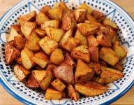 Decadent Garlic Home Fries