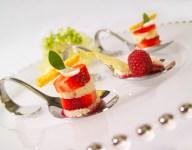 Strawberry Shortcake Spoons