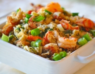 Crawfish Wild Rice Cornbread Dressing