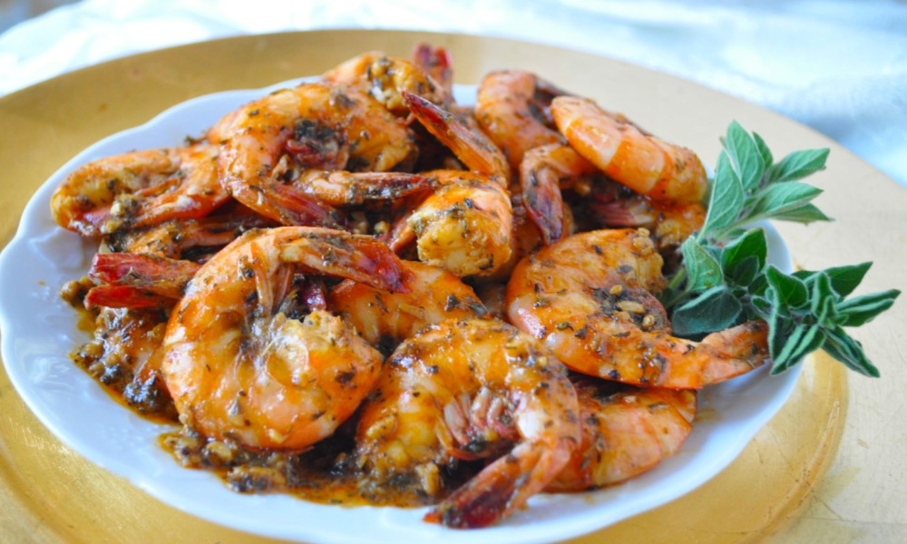 This BBQ Shrimp New Orleans Style is a winner and so representative of a New Orleans' favorite made better for you.Be sure to make angel hair pasta and get a loaf of French bread to dip in the sauce. Did you know shrimp is rich in magnesium and magnesium has been found to decrease the stress hormone, cortisol, giving you a calm sleepy feeling?