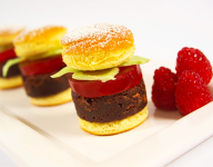 An April Fools' Day Dessert Hamburger