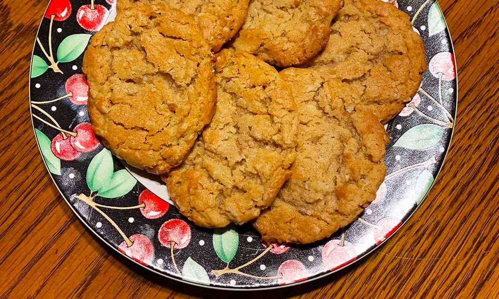 I love recipes with a story. Over the years, I've found churches to be a wonderful place to find recipes that have been in families for generations. This recipe for Ann's Church Choir Peanut Butter Oatmeal Cookies is one of those.