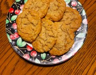 Ann's Church Choir Peanut Butter Oatmeal Cookies