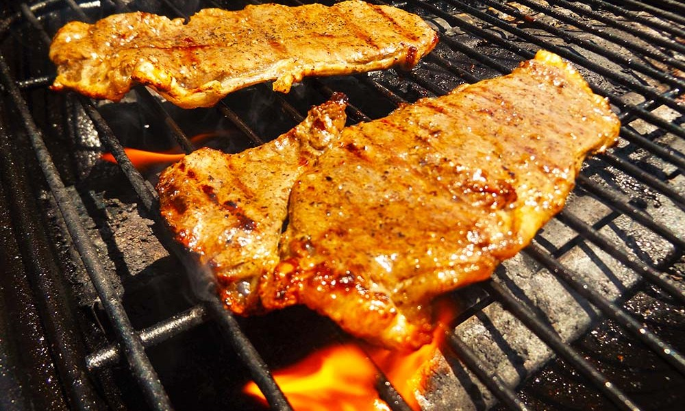 So simple but what flavor! These Awesome Grilled Steaks are enhanced by the flavor of soy sauce, ketchup or chili sauce, olive oil, garlic powder, brown sugar, onion powder and black pepper.