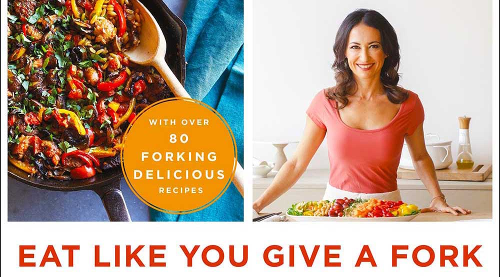 The Eat Like You Give A Fork Cookbook features Chef Mereya Ibrahim with more than 80 recipes to help you eat healthier every day and avoid the dreaded word diet.
