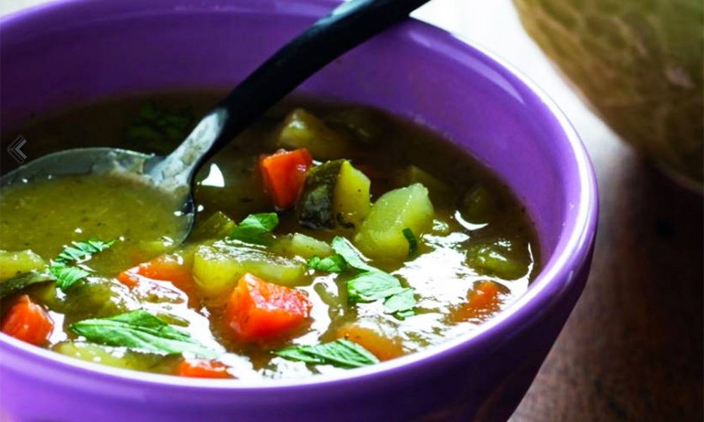 """This recipe for Kitchen Sink Vegetable Soup is one in a series of vegetarian Passover recipes created by KAYCO, the leading purveyor of kosher foods in the U.S., in concert with Naomi Nachman, author of the """"Perfect for Passover"""" cookbook and Kosher.com, the popular kosher lifestyle resource."""