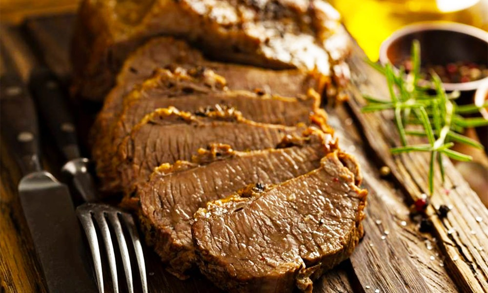 This recipe for Sweet and Saucy Brisket is shared by our friends at Kosher.com, a resource that has become my go-to for education and delicious kosher recipes. Sweet and Saucy Briskey is one in a series of recipes shared to celebrate Passover.
