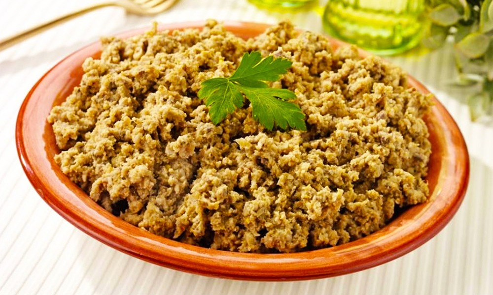"This recipe for Vegetarian Chopped Liver is one in a series of vegetarian Passover recipes created by KAYCO, the leading purveyor of kosher foods in the U.S., in concert with Naomi Nachman, author of the ""Perfect for Passover"" cookbook and Kosher.com, the popular kosher lifestyle resource."