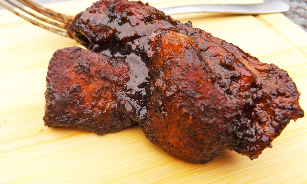 Want ribs? Want simple to prepare ribs? Want some good ol' tasty, simple to prepare ribs? This is your recipe. With great flavor and you most likely have everything in your fridge or pantry already! Get to grillin'!