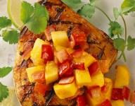 Grilled Tuna with Papaya Chutney
