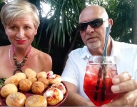 Summer Spritzers with Eszter and Alfred