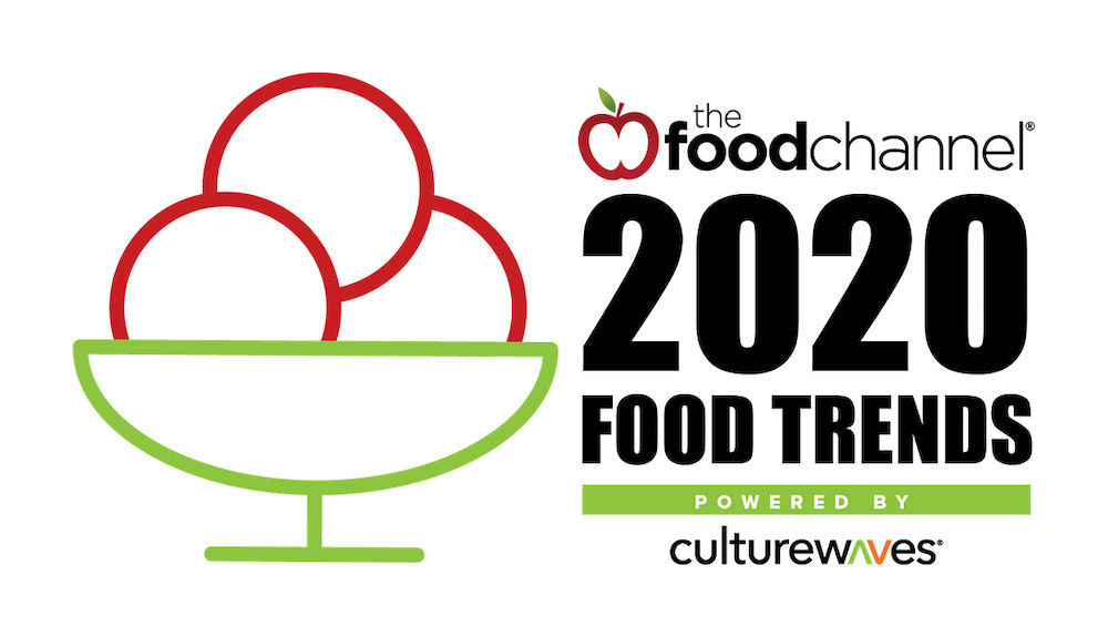 The food channel presents its annual food trend predictions for 2020