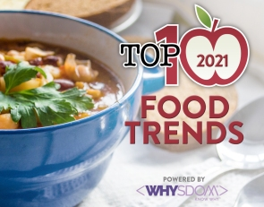 2021 Top Ten Food Trends
